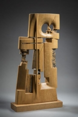 Chaouki Choukini, Etre, 2014, Chêne/Oak, 83 x 47 x 15 cm
