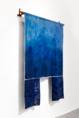 Ana Mazzei, Blue Drop, 2018, Acrylic on linen, 217x 217cm