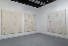 Installation view of Green Art Gallery, Dubai atAbu Dhabi Art, 2019