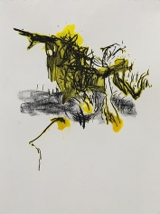 Shawki Youssef, Variation 2, 2013, Mixed media on paper, 48 x 36 cm