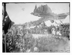 Mehreen Murtaza, Ottoman flags fly over the Nabi Musa for the last time, in 1917, 2012, Hahnemühle Matte Cotton Smooth Inkjet Paper
