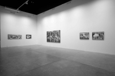 Grey Ash,Ahmad Moualla,Installation view at Green Art Gallery, Dubai, 2011