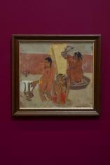 Margo Veillon, Untitled, 1938, Acrylic on canvas, 43.8 x 48.5 cm