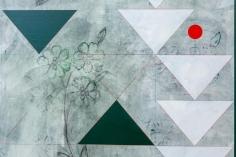 Kamrooz Aram, Ornamental Composition for Social Spaces (2) (detail), 2016