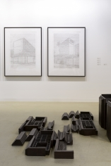 Installation view of Green Art Gallery, Dubaiat Art Basel Statements, 2017
