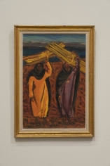 Inji Efflatoun, Untitled, 1958, Oil on canvas, 51.5 x 34.5 cm
