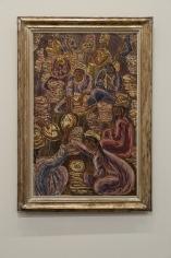 Inji Efflatoun, Le Pain de Notre Vie, 1964, Oil on canvas, 101 x 65.5 cm