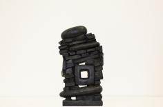 Chaouki Choukini, Untitled, 2019, Bronze, 34 x 19 x 8.5 cm