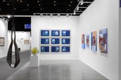 Installation view of Green Art Gallery, Dubai, at Art Dubai Contemporary, 2019