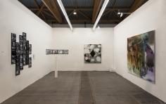 Installation view of Green Art Gallery, Dubai at Art Brussels, 2014
