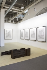 Installation view of Green Art Gallery, Dubai at Art Basel Statements, 2017