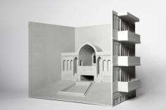Nazgol Ansariniain collaboration with Roozbeh Elias-Azar, Fabrications,Residential building/ belvedere & garden on Resalat highway, 2013
