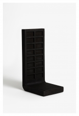 Seher Shah, Untitled (upright grid), 2015, Cast iron, 29.5 x 16 x 12.5 cm, Ed. of 2