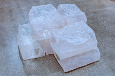 Shadi Habib Allah,Measured Volumes,2018, Plastic cases, resin, UV gel and clear coat, single channel audio