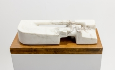 Chaouki Choukini, Paysage, 1983, Marble, 10 x 51 x 19 cm