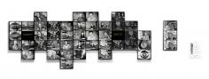 Alessandro Balteo-Yazbeck, Chronoscope, 1951, 11pm [Stelae], 2009-2011