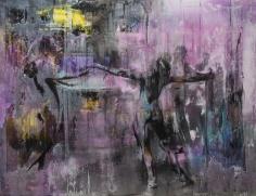 Zsolt Bodoni, Untitled (carpet), 2014, Acrylic on canvas, 200 x 250 cm