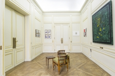 Installation view of Green Art Gallery, Dubaiat Paris Internationale, 2016