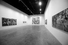 Grey Ash, Ahmad Moualla, Installation view at Green Art Gallery, Dubai, 2011