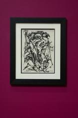 Margo Veillon, Untitled, 1965, Mixed media on paper, 35 x 26 cm