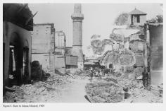 Mehreen Murtaza, Ruin in Adana Minaret, 1909, 2012, Hahnemühle Matte Cotton Smooth Inkjet Paper