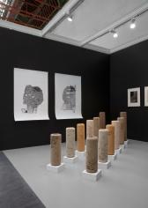Installation view of Green Art Gallery, Dubai at FIAC,2019