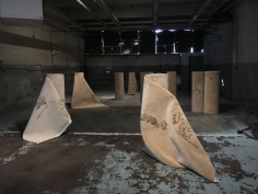 Hera Büyüktaşçıyan, Reveries of an Underground Forest, 2019, Carpets, Dimensions variable