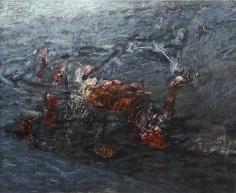 Shawki Youssef, Organic Corners, 2013, Mixed media on canvas, 180 x 147 cm