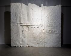 Nazgol Ansarinia,Membrane, 2014, Paper, paste and glue, 550 x 500 cm