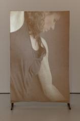 Ana Mazzei,Dancer, 2019, Video:projection, wood and felt, 160 x 102 cm,