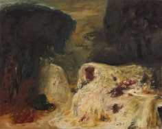 Ziad Dalloul, L'Aube de la nuit, 2000, Oil on canvas, 130 x 162 cm