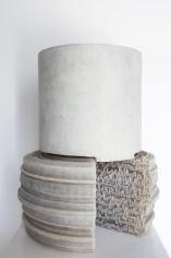 Nazgol Ansarinia,Article 45, Pillars, 2015, Epoxy resin, paint, 51 x 40 x 40 cm