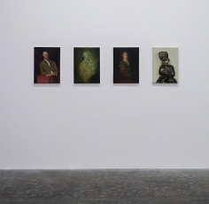 Testament,Ross Chisholm, Installation view atGreen ArtGallery, Dubai, 2014
