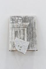 Hera Büyüktaşçıyan, Icons for builders, 2017, Wood and marble, 26.3 x 20 cm