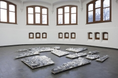 Fragments, Particles and the Mechanisms of Growth, Installation view at KIOSK, Belgium, 2017