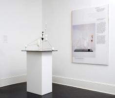 Alessandro Balteo-Yazbeck, Didactic Panel and Model of Alexander Calder's Vertical