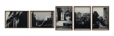 Hera Büyüktaşçıyan, Deconstructors Volume II, 2017, Collage on paper, Set of 5, Dimensions variable