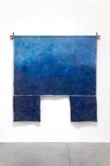 Ana Mazzei, Blue Drop, 2018, Acrylic on Linen, 217 x 217 cm