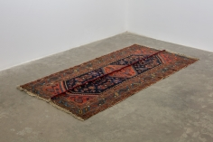 Nazgol Ansarinia, Mendings (carpet), 2010, Mixed media, 195 x 95 cm