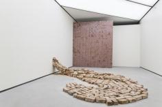Hera Büyüktaşçıyan, When Things Find Their Own Cleft, 2016, Installation view at ALT Bomonti, Istanbul, Turkey, 2016