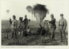 Mehreen Murtaza, Ottoman heliograph crew at Huj during World War I, 1917. American Colony Jerusalem, 2012, Hahnemühle Matte Cotton Smooth Inkjet Paper