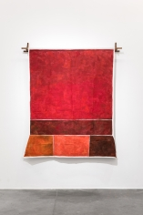 Ana Mazzei, Red Drop, 2018, Acrylic on linen, 210x 190cm