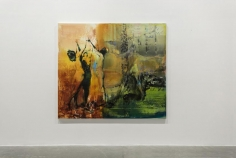 The Shining Path, Zsolt Bodoni, Installation view at Green Art Gallery, Dubai, 2015