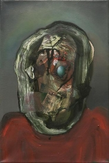 Ross Chisholm, Redcoat, 2013, Oil on canvas, 20 x 30 cm