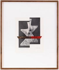 Kamrooz Aram, From the series 7000 Years, 2010, Mixed media on paper, 43 x 35 cm