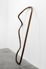 Nika Neelova, Lemniscate V, 2017, 2 flights of stairs and hardwood handrails