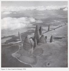 Mehreen Murtaza, Suez Canal in February 1934, 2012, Hahnemühle Matte Cotton Smooth Inkjet Paper