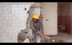 Nazgol Ansarinia, Fragment 2, Demolishing buildings, buying waste (still), 2017, Video, Duration 6 mins 15 sec, Ed. of 5
