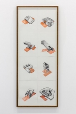 Hera Büyüktaşçıyan, The Discovery of 36 Wells, 2016, Pencil and watercolor on paper, 27 x 35 cm (each)