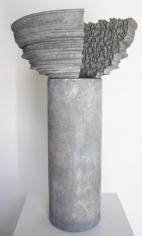 Nazgol Ansarinia,Article 48, Pillars, 2015, Epoxy resin, paint, 72 x 44 x 44 cm